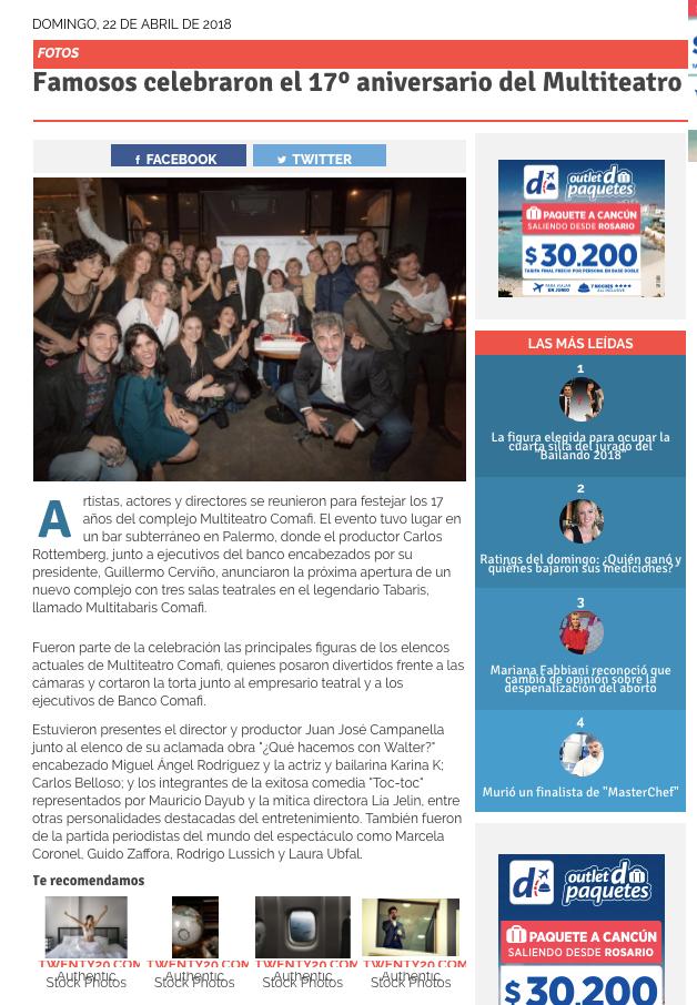 Banco comafi en primicias ya brand partners prensa for Primicias ya para movil