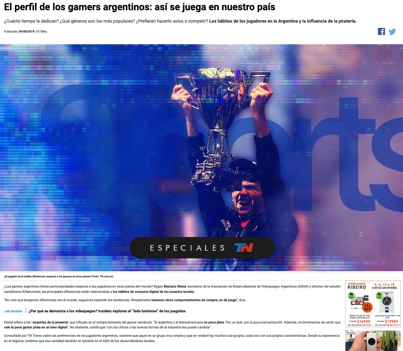 Eventbrite on Todo Noticias