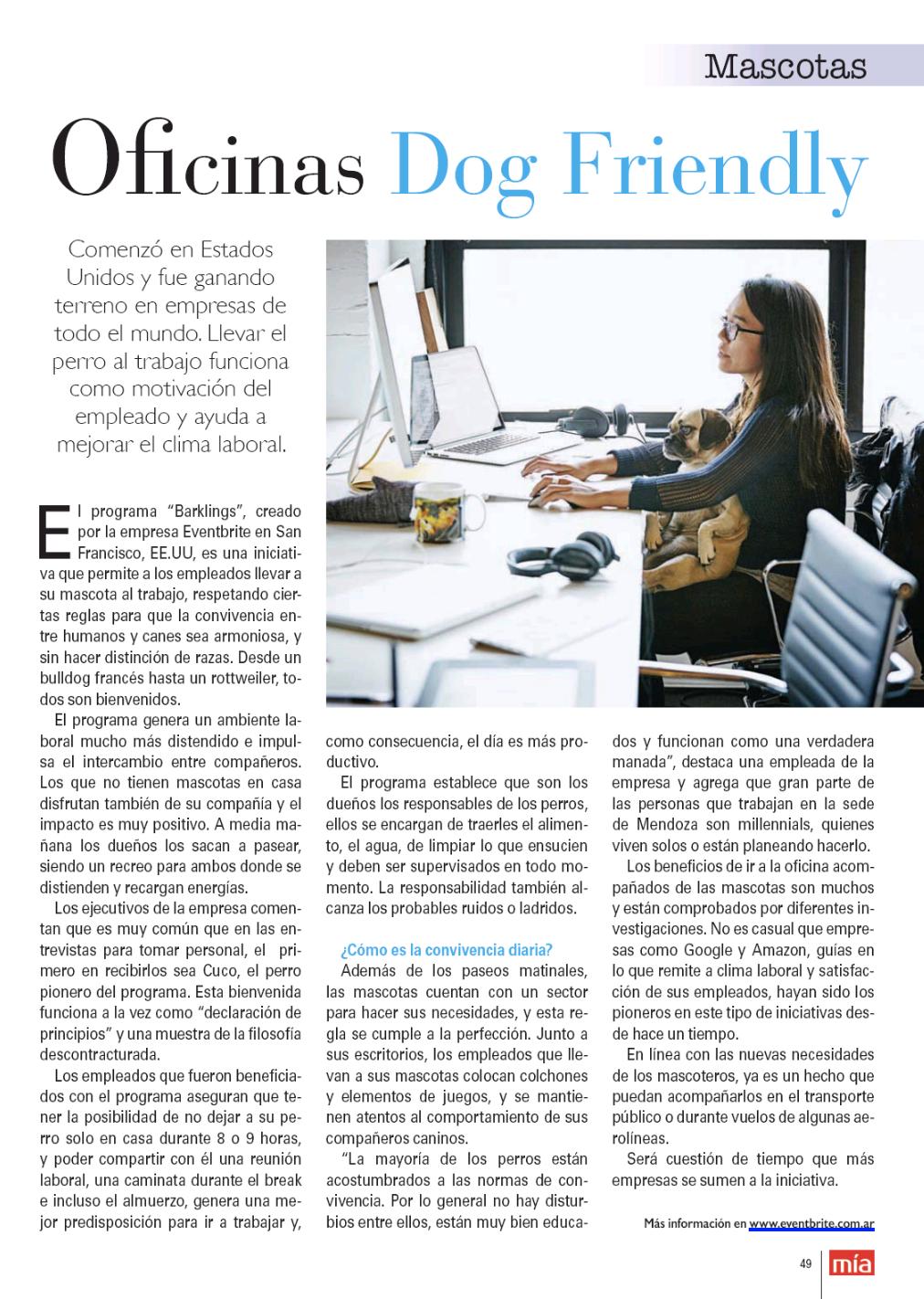 Eventbrite on Revista Mia